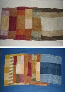 Rayon chenille assorted cushion covers