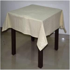 Lurex Stripes Christmas Table Cloth Stock