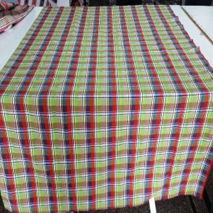Check Designs Table Cover Stock