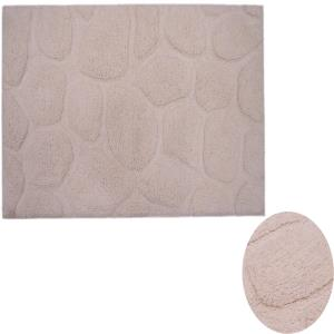 Pebble Stone Bath Rug Stock