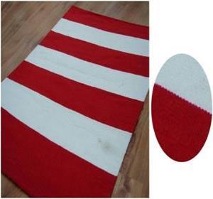 Polyester  stripe rug stock