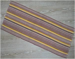 Polypropylene Hand Woven Floor Covering Rug Stock