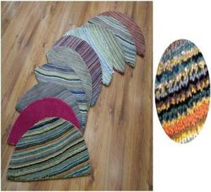 Woolen Half Moon  Carpet Stock
