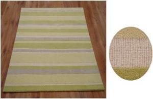 Hand loom Loop & Cut pile Border Carpet Stock
