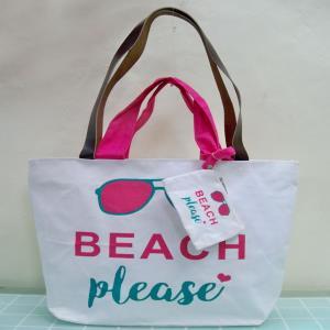 Cotton beach bags