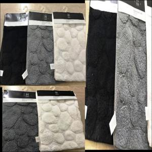 Pebble Bath mat Stock