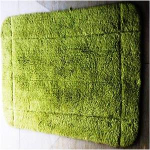 Rubber backed Designer & plain bathmats Stock