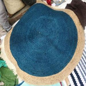 100% Jute braided rugs Stock